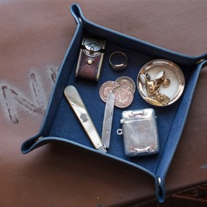 Official BBMF Men's Tray with old items inside in Navenby Antiques