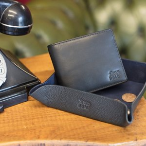 lukes barbershop bbmf wallet and tray