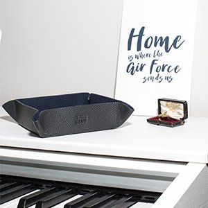 Battle of Britain Official Gift mens' tray on a piano