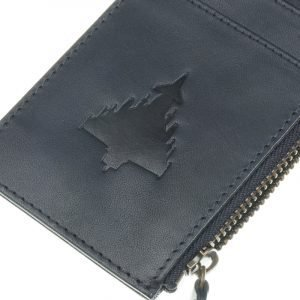 Typhoon Cardholder with Zip 100% Leather