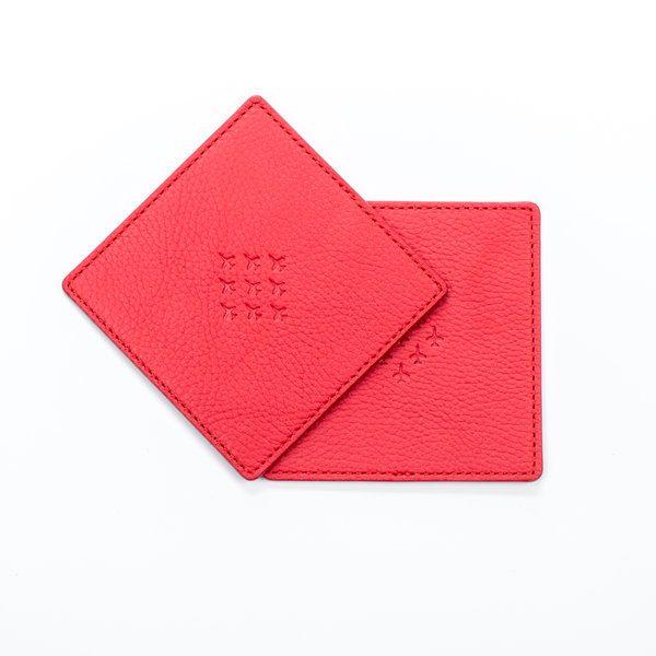 red arrows coaster square with diamond 9 logo