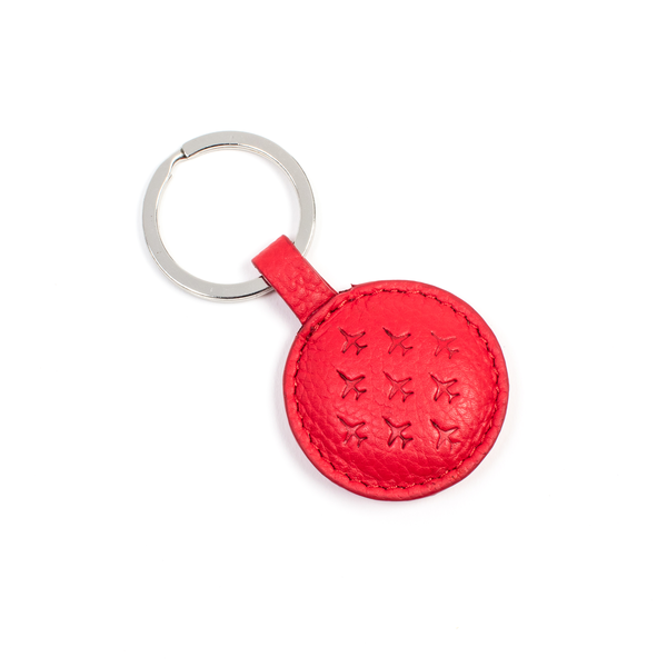 Red Arrows Leather Key Ring
