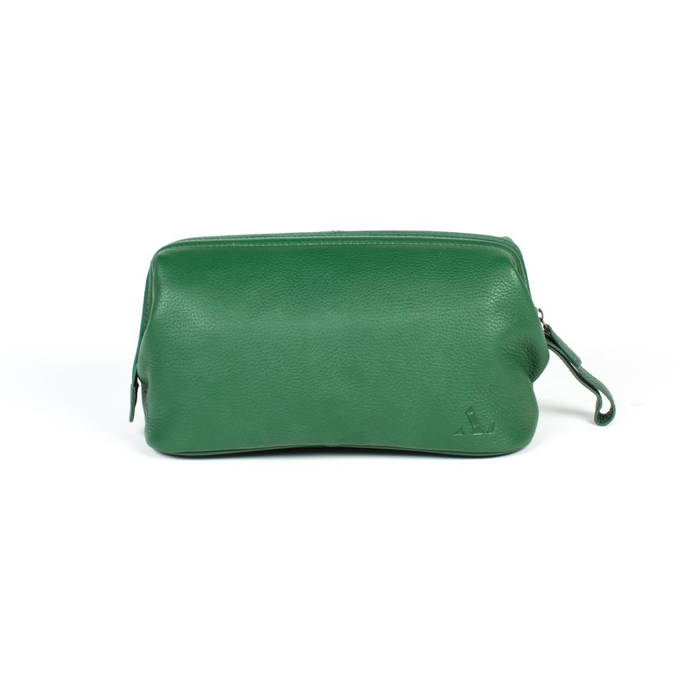 gorgoeus green asali washbag