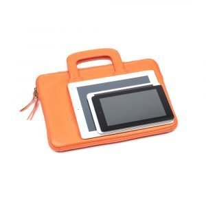 asali orange laptopn case with tablets