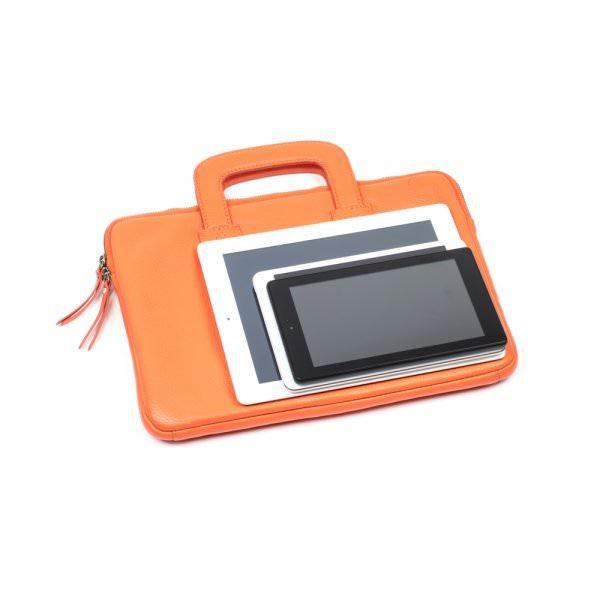 asali orange laptopn case with tablets