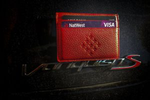 red arrows cardholder on vanquish car by keith campbell