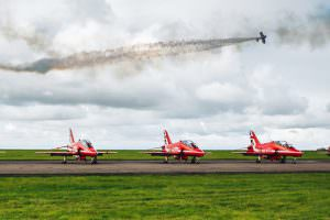 red arrows at scampton