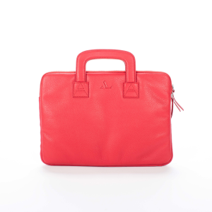 red asali logo laptop case front image