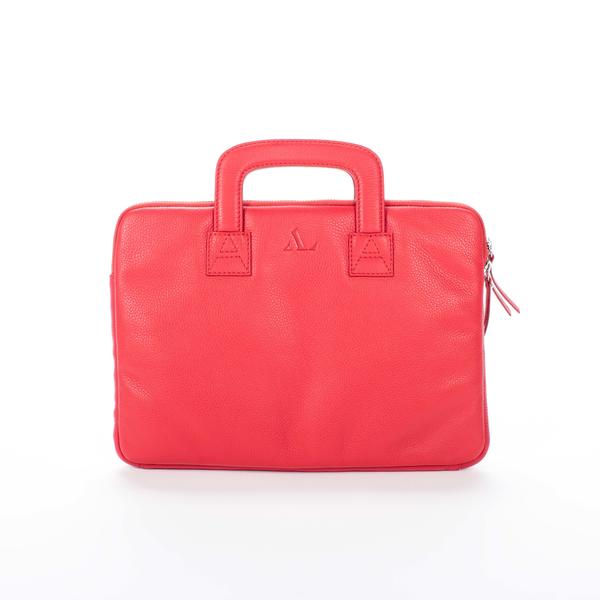 red asali logo laptop case front image