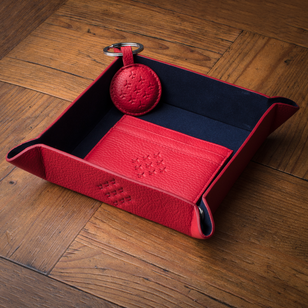 red arrows accessories Tray with cardholder and key ring