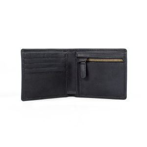 RAF merchandise wallet open with zip