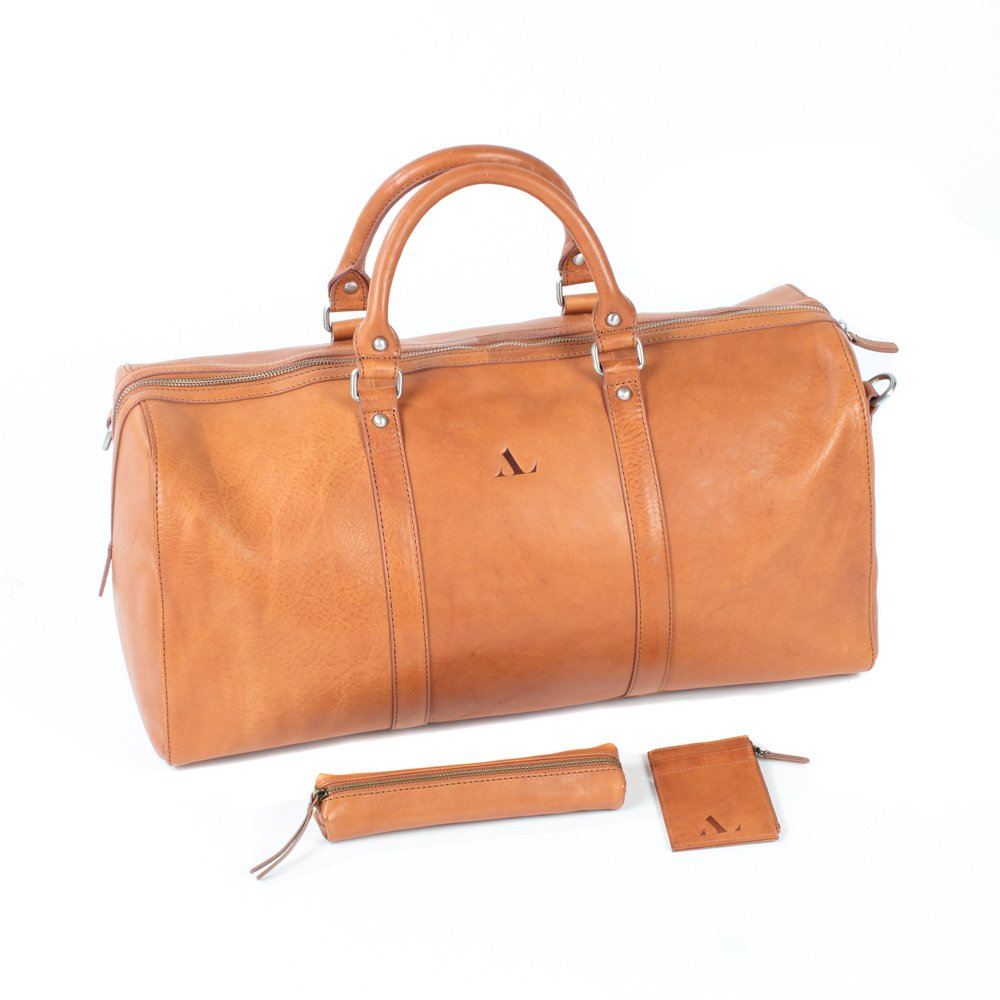 ebed84faa02c9 Weekend Bag | Tanned Holdall | Luxury Bags for Men & Women