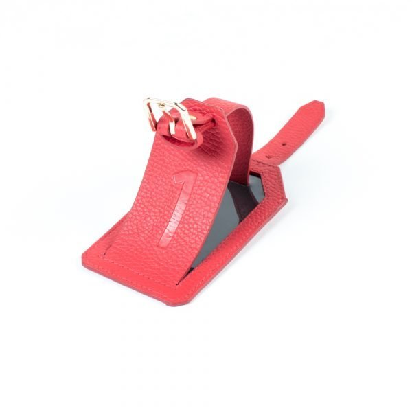 red arrows luggage tag