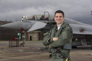 Flt Lt Jim Peterson Typhoon Display
