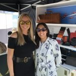 Carol Vorderman with Mindy Arora from ASALI