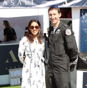 Mindy arora, asali, chinook display team leader olly leaming