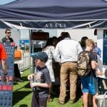 Customers busy at ASALI at RIAT