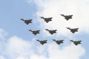 Typhoon Diamond 9 RAF100