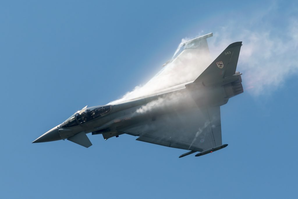 eurofighter typhoon craig sluman