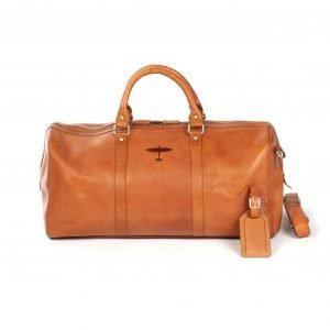 spitfire weekend bag leather
