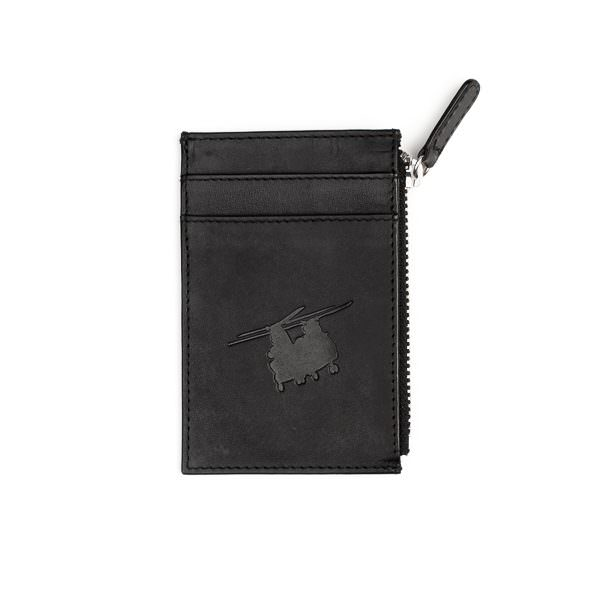 RAF Chinook cardholder black leather