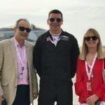 UK Ambassador to Bahrain Simon Martin with Flt Jim Peterson