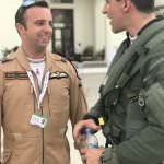 Ryan Lawton Jim Peterson Typhoon Display Bahrain Airshow