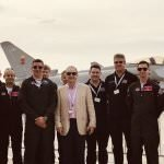 uk ambassadro to bahrain with the typhoon display team 29 squadron engineers