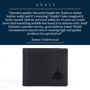 typhoon wallet testimonial asali gifts