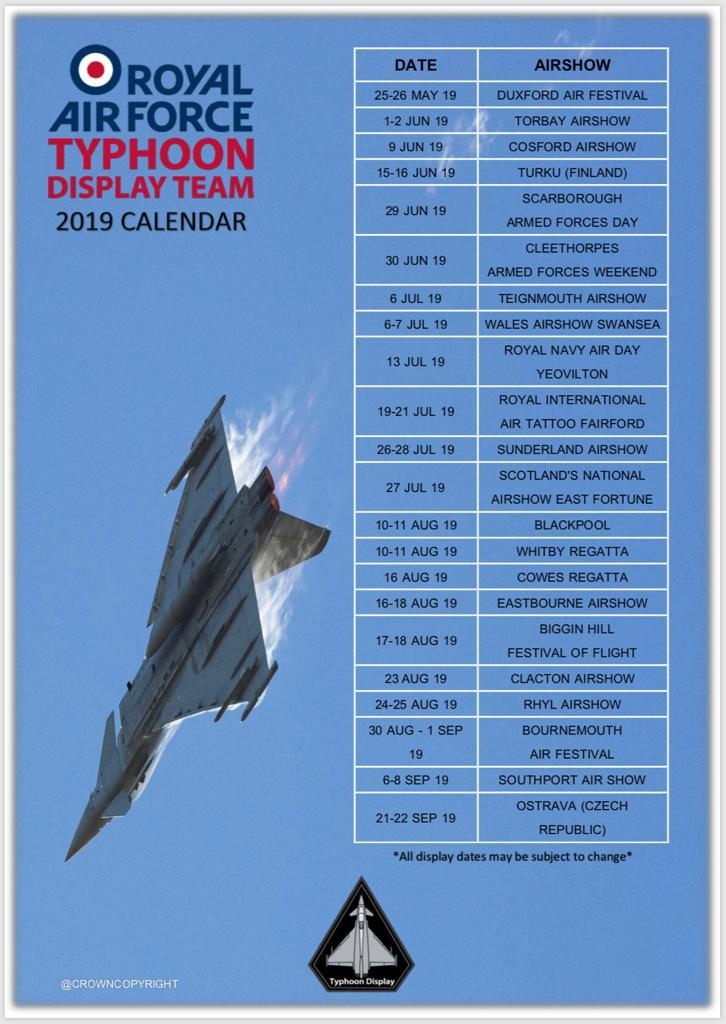 typhoon display list 2019 where you can see it