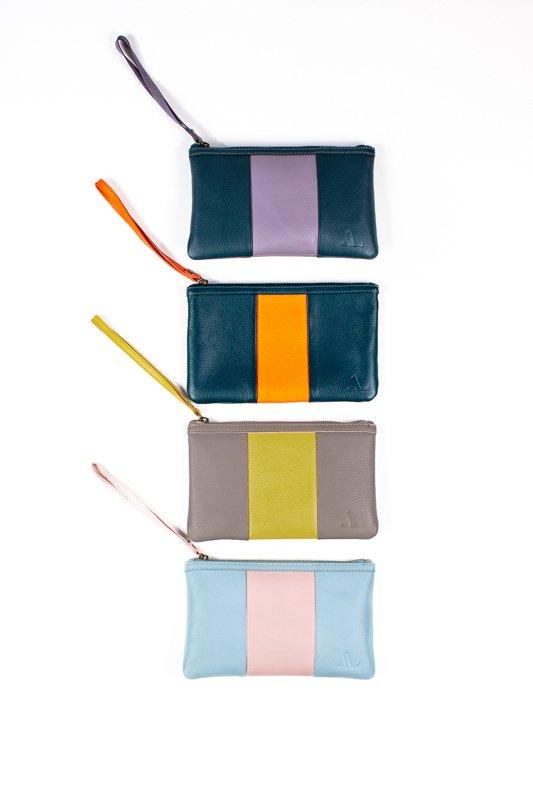 coloured purses leather asali designs