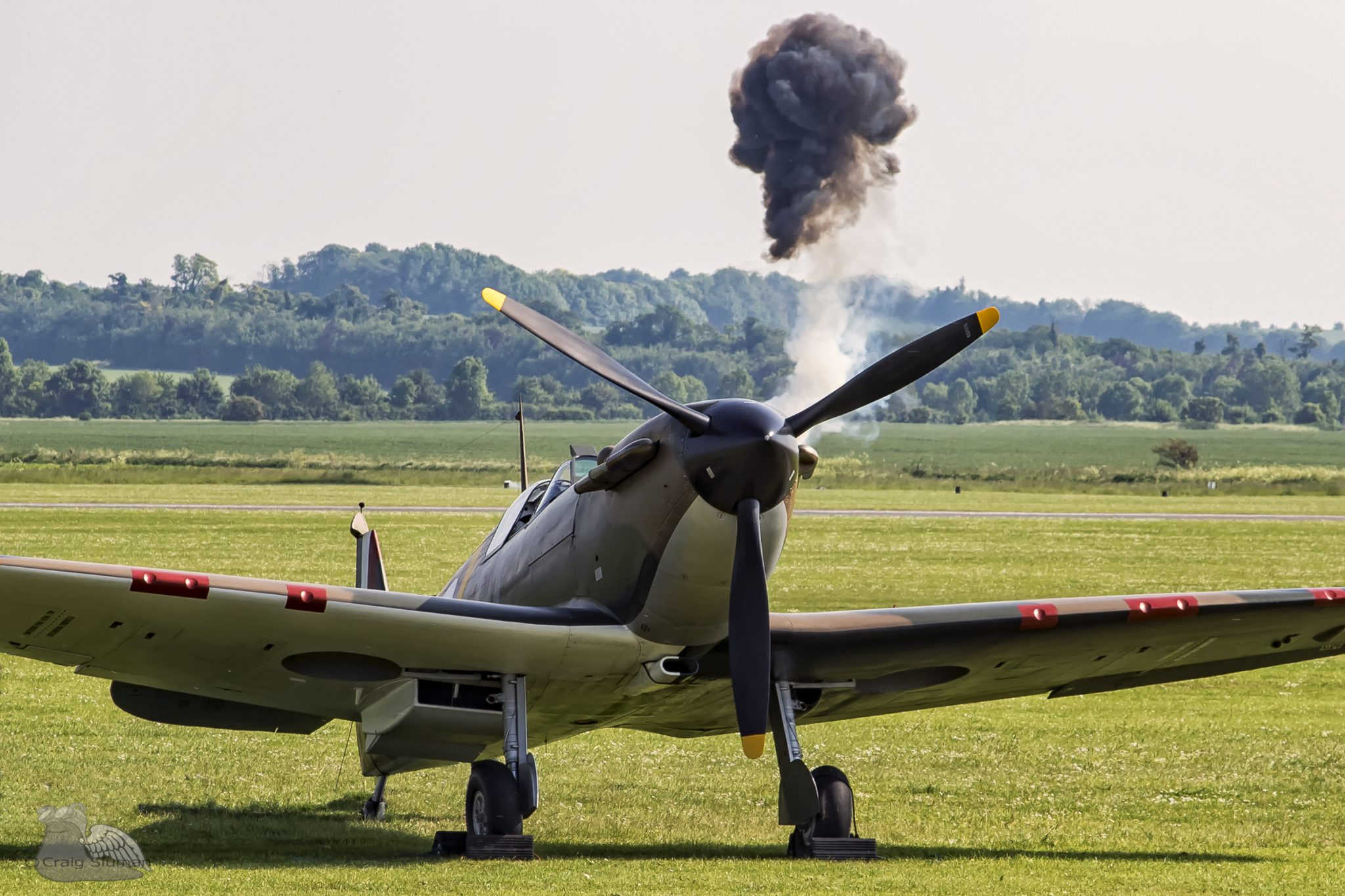 spitfire mk1 craig sluman the hardest day