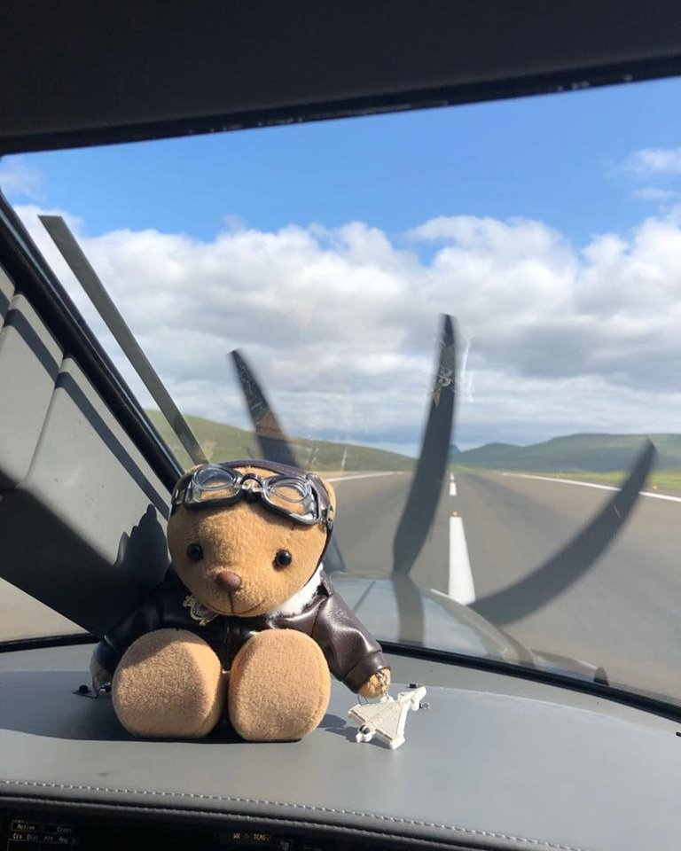 petwood bear silver spitfire the longest flight