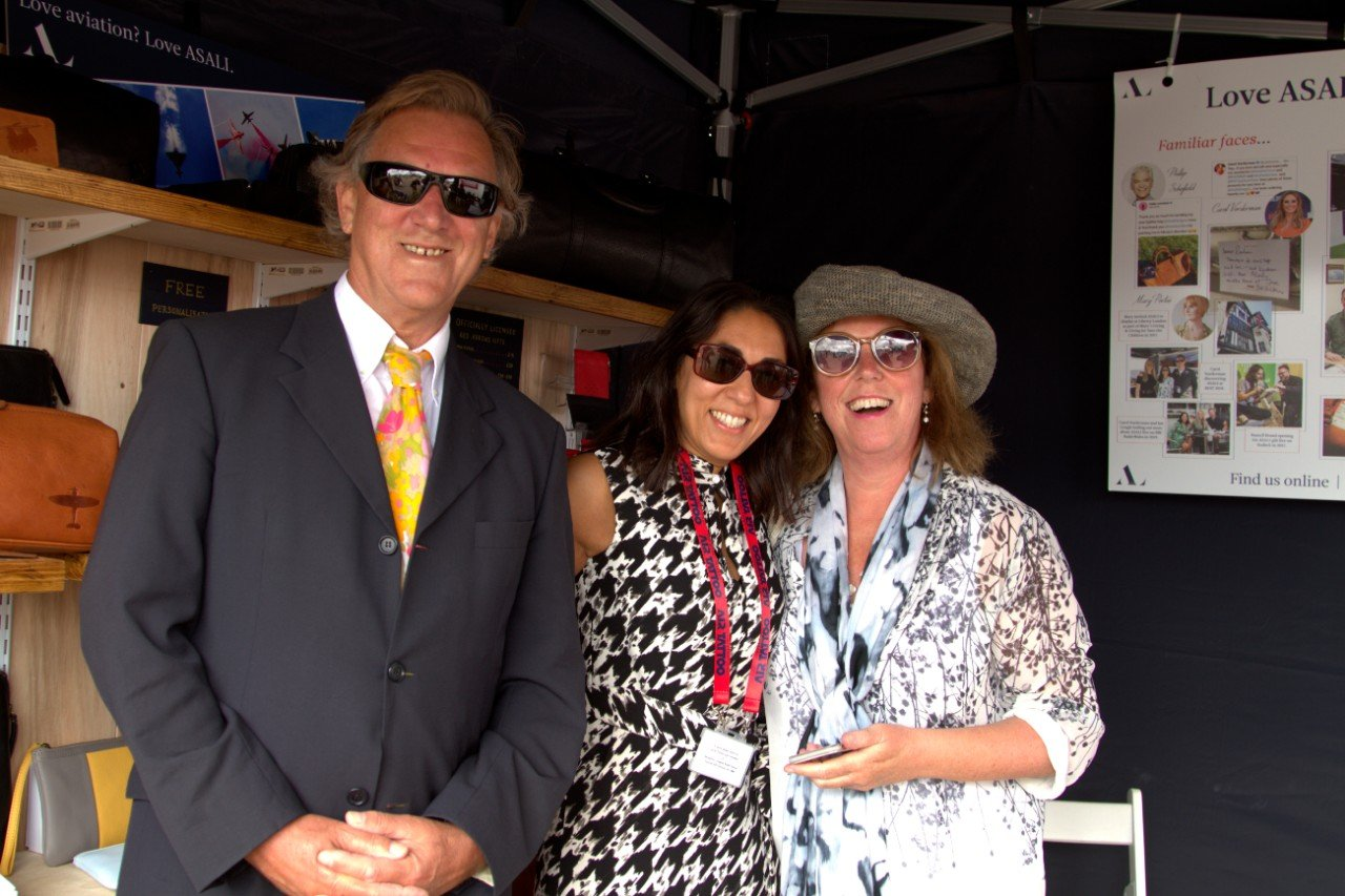carol and david bent with mindy arora at asali at riat