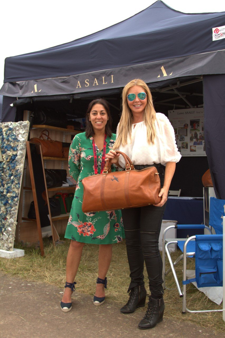 carol vorderman cadet group captain riat asali lancaster bag