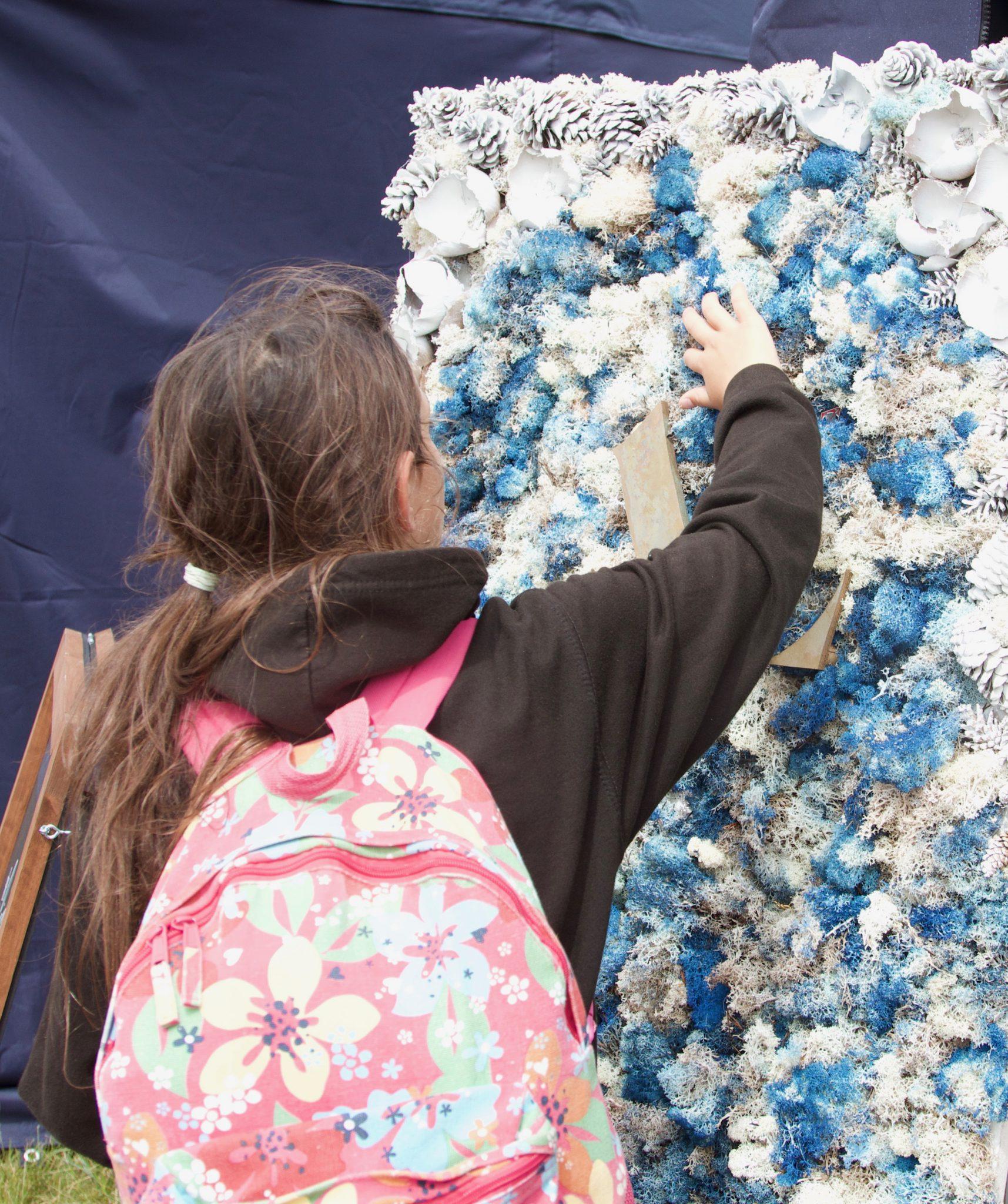 asali flower wall