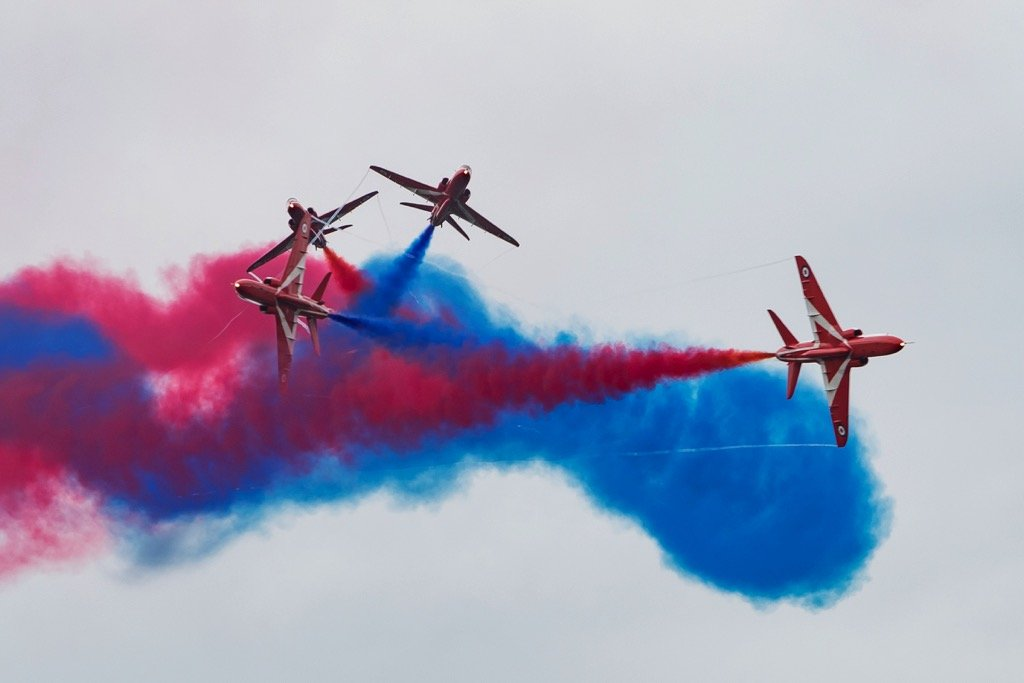 red arrows jets airshow asali