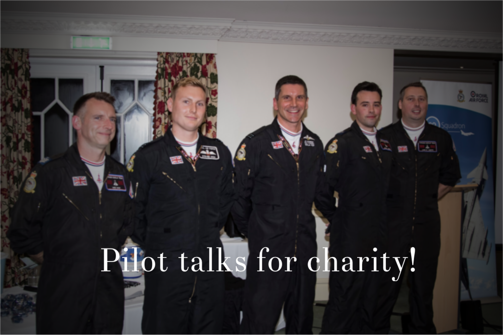 Pilot Talks Support Chosen Charities