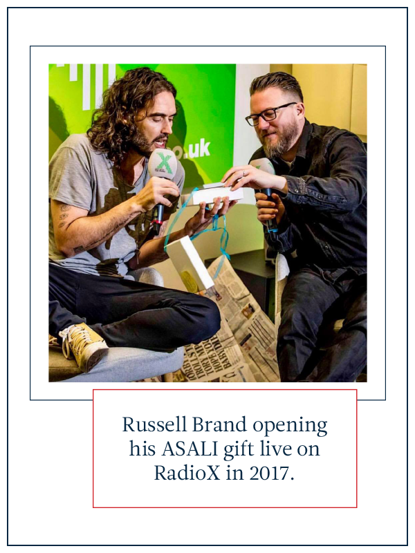 typhoon wallet for russell brand from asali