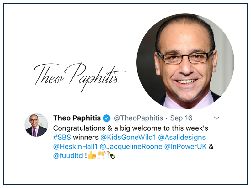 theo paphitis selects ASALI designs as an SBS winner
