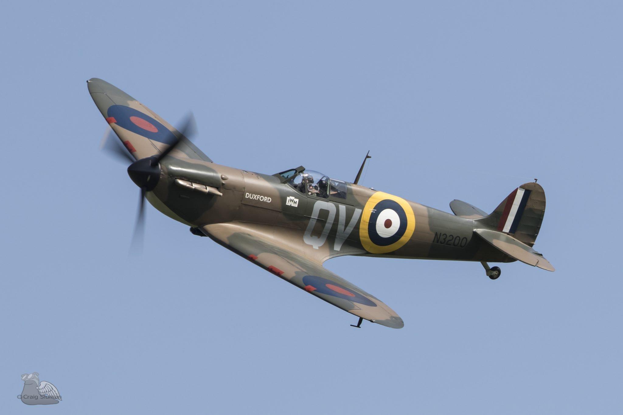 spitfire bbmf asali designs craig sluman
