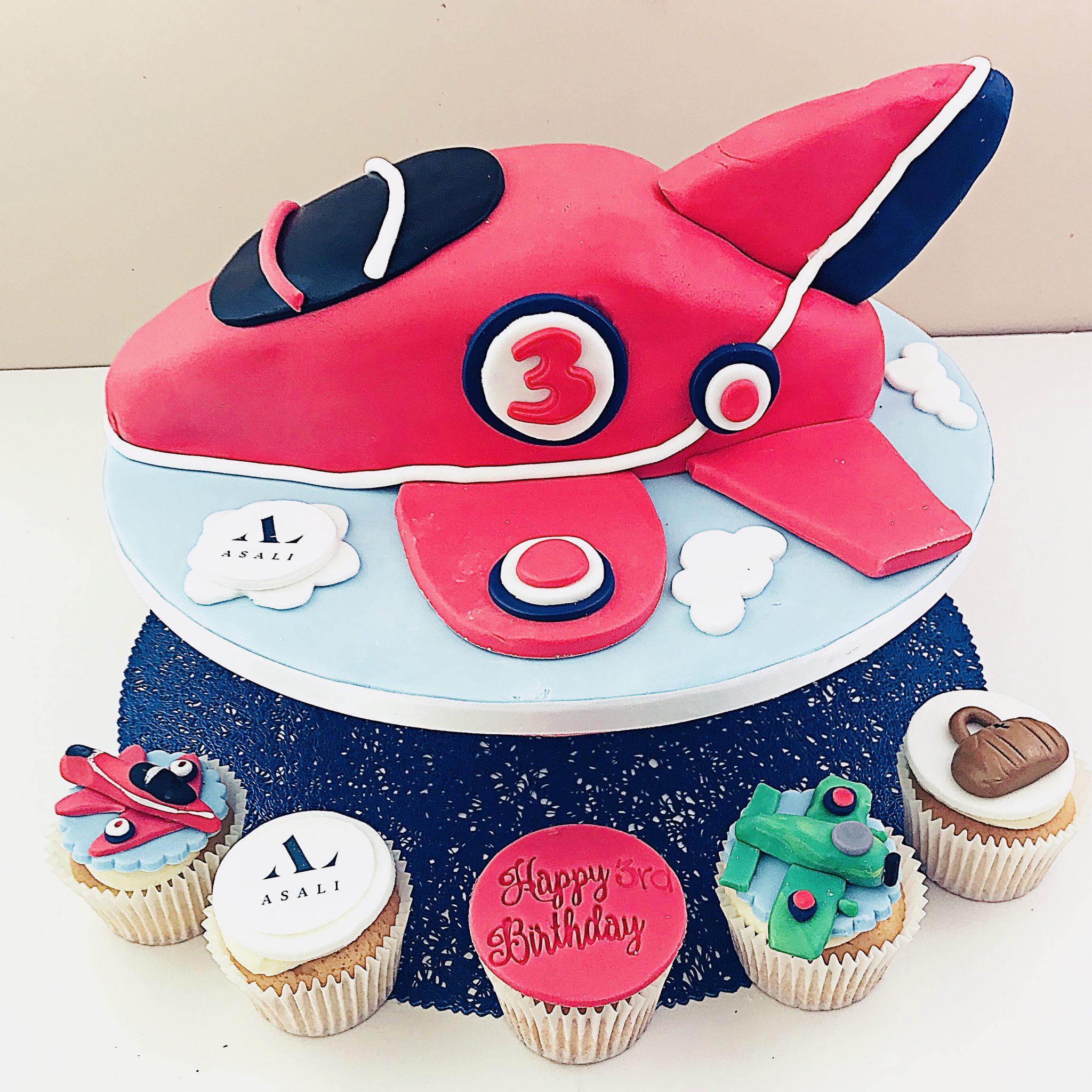 back garden bakery cakes for asali red arrows spitfire