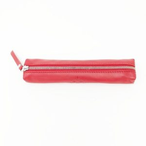 red arrows merchandise gift shop red leather pencil case