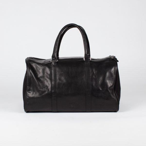 black weekend travel bag large with pockets