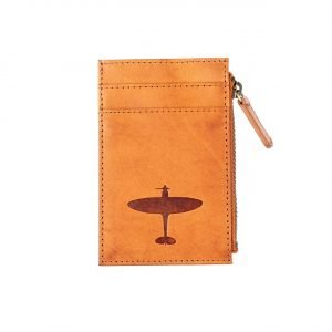 Spitfire leather cardholder wallet gift asali