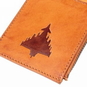 Close up of typhoon on a cardholder pilot gift ideas raf