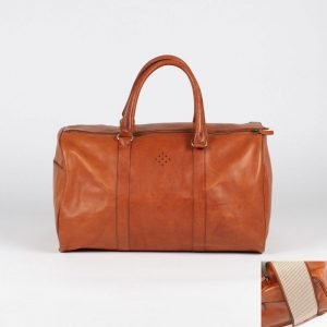 red arrows merchandise leather travel bag large weekender asali