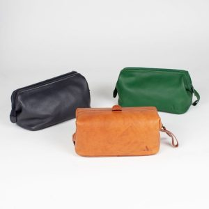 leather wash bags collection asali designs gifts