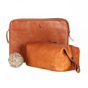 asali laptop sleeve and wash bag set