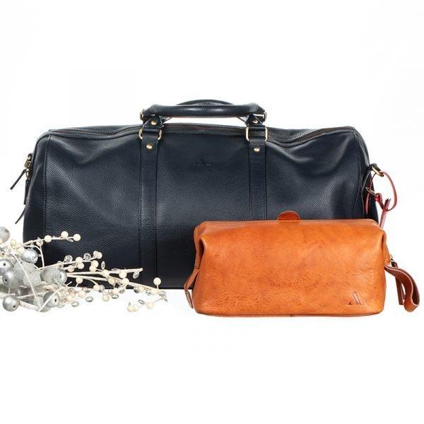 Weekend bag and wash bag set